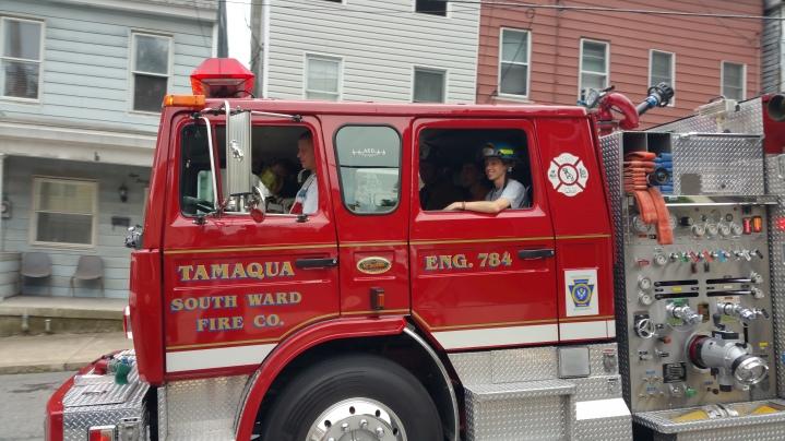 False Alarm, No Fire, No Smoke, West Spruce Street, Tamaqua, 8-30-2015 (8)