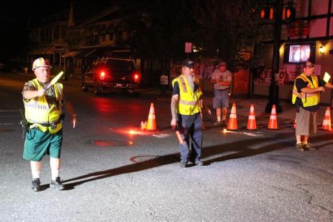 Fire Police, SR309 North, Tamaqua, 8-6-2015 (2)