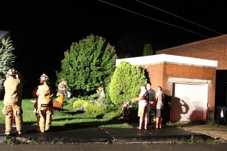 Firefighters Respond to Garage Fire in Coaldale, 8-20-2015 (203)