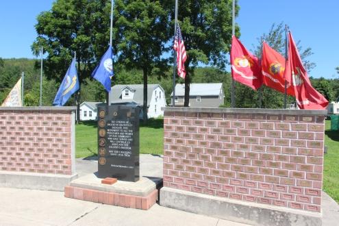 Flags at Half-Mast, Brockton, 7-24-2015 (10)
