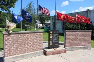 Flags at Half-Mast, Brockton, 7-24-2015 (21)