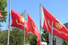 Flags at Half-Mast, Brockton, 7-24-2015 (26)