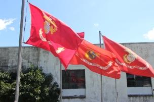 Flags at Half-Mast, Brockton, 7-24-2015 (3)