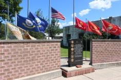 Flags at Half-Mast, Brockton, 7-24-2015 (36)