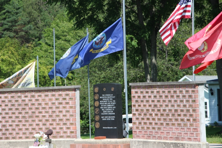 Flags at Half-Mast, Brockton, 7-24-2015 (49)