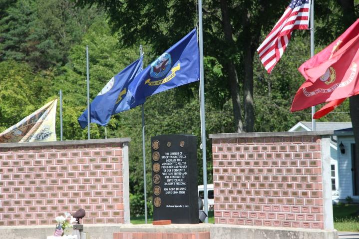 Flags at Half-Mast, Brockton, 7-24-2015 (49)