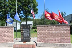 Flags at Half-Mast, Brockton, 7-24-2015 (9)