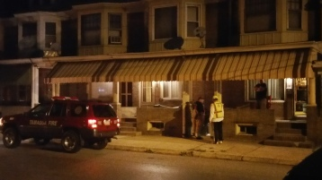 Fuel Oil Spill in Basement of Condemned Property, 417 Pine, Tamaqua (1)