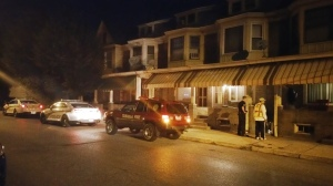 Fuel Oil Spill in Basement of Condemned Property, 417 Pine, Tamaqua (6)
