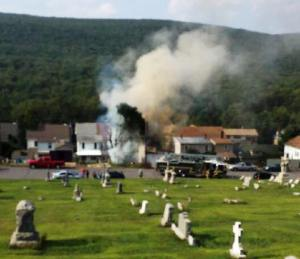 Image from Nesquehoning Fire Company Facebook page.