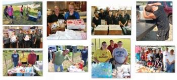 Helping, Donating to Search Teams, Sharp Mountain, Tamaqua, 8-15-2015 (11)