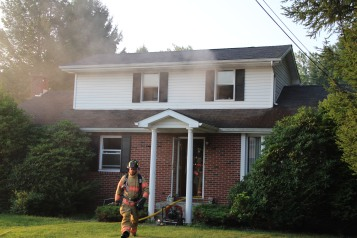 House Fire, 14 West Cherry Street, Tresckow, 8-17-2015 (22)