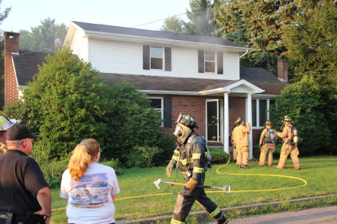 House Fire, 14 West Cherry Street, Tresckow, 8-17-2015 (31)