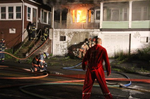 House Fire, 40-42 West Water Street, US209, Coaldale, 8-4-2015 (25)