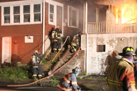 House Fire, 40-42 West Water Street, US209, Coaldale, 8-4-2015 (43)