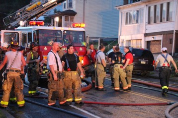 House Fire, 40-42 West Water Street, US209, Coaldale, 8-4-2015 (436)
