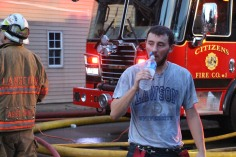 House Fire, 40-42 West Water Street, US209, Coaldale, 8-4-2015 (504)