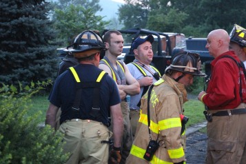 House Fire, 40-42 West Water Street, US209, Coaldale, 8-4-2015 (517)