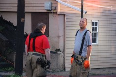 House Fire, 40-42 West Water Street, US209, Coaldale, 8-4-2015 (520)