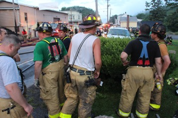 House Fire, 40-42 West Water Street, US209, Coaldale, 8-4-2015 (548)