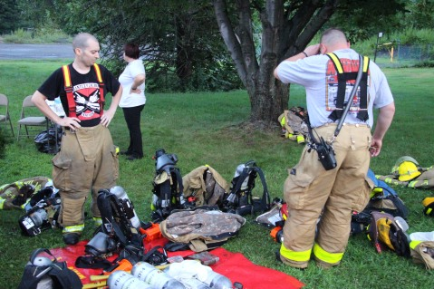 House Fire, 40-42 West Water Street, US209, Coaldale, 8-4-2015 (550)