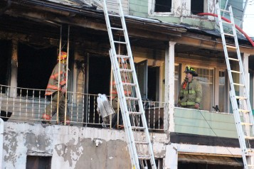 House Fire, 40-42 West Water Street, US209, Coaldale, 8-4-2015 (561)