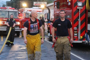 House Fire, 40-42 West Water Street, US209, Coaldale, 8-4-2015 (593)