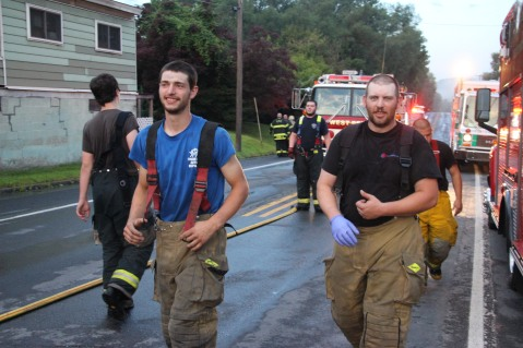 House Fire, 40-42 West Water Street, US209, Coaldale, 8-4-2015 (594)