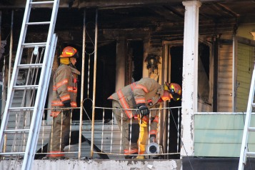 House Fire, 40-42 West Water Street, US209, Coaldale, 8-4-2015 (610)