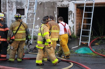 House Fire, 40-42 West Water Street, US209, Coaldale, 8-4-2015 (622)