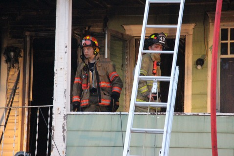 House Fire, 40-42 West Water Street, US209, Coaldale, 8-4-2015 (632)
