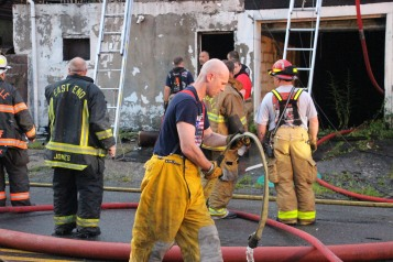 House Fire, 40-42 West Water Street, US209, Coaldale, 8-4-2015 (633)
