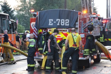 House Fire, 40-42 West Water Street, US209, Coaldale, 8-4-2015 (683)