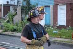House Fire, 40-42 West Water Street, US209, Coaldale, 8-4-2015 (718)