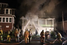 House Fire, 40-42 West Water Street, US209, Coaldale, 8-4-2015 (75)