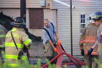 House Fire, 40-42 West Water Street, US209, Coaldale, 8-4-2015 (760)