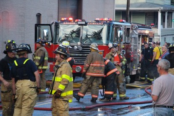 House Fire, 40-42 West Water Street, US209, Coaldale, 8-4-2015 (772)