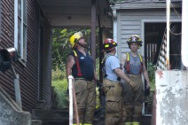 House Fire, 40-42 West Water Street, US209, Coaldale, 8-4-2015 (788)