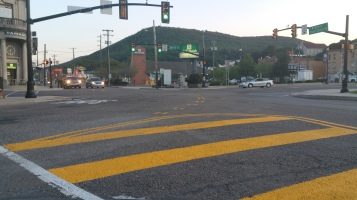 Intersection Improvements, Five Points, US209, SR309, Tamaqua, 8-28-2015 (10)