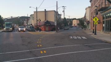 Intersection Improvements, Five Points, US209, SR309, Tamaqua, 8-28-2015 (2)