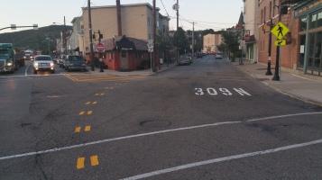 Intersection Improvements, Five Points, US209, SR309, Tamaqua, 8-28-2015 (3)