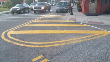 Intersection Improvements, Five Points, US209, SR309, Tamaqua, 8-28-2015 (8)