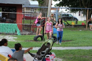 Kids Beach Party, North and Middle Ward Playground, Tamaqua, 7-31-2015 (1)