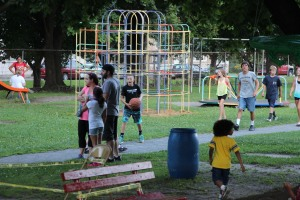 Kids Beach Party, North and Middle Ward Playground, Tamaqua, 7-31-2015 (3)