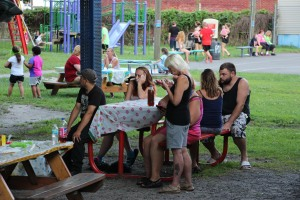 Kids Beach Party, North and Middle Ward Playground, Tamaqua, 7-31-2015 (4)