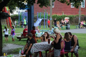 Kids Beach Party, North and Middle Ward Playground, Tamaqua, 7-31-2015 (5)