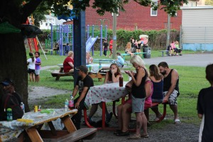Kids Beach Party, North and Middle Ward Playground, Tamaqua, 7-31-2015 (6)