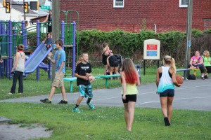 Kids Beach Party, North and Middle Ward Playground, Tamaqua, 7-31-2015 (7)
