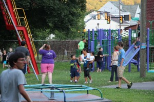 Kids Beach Party, North and Middle Ward Playground, Tamaqua, 7-31-2015 (8)