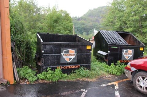 Kittens in Dumpster, Sisters Cantina, Tamaqua, 8-19-2015 (65)